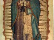 Our Lady of Guadalupe.