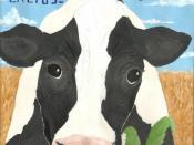The Album Cover to Milkman's debut album