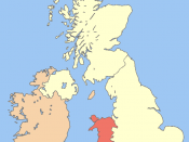 Image of Wales in the UK