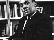 Ralph Ellison, noted author and professor.