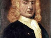 Captain William Kidd, privateer turned pirate, whom all colonial governors were directed to seize if found