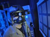 Panoramic Night Vision Goggles in testing.