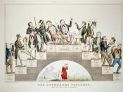 English: A lithograph by Nathaniel Currier supporting the temperance movement.