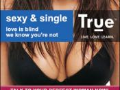 An example of one of True's online ads.