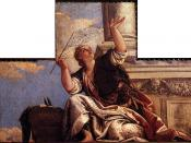 Paolo Veronese - Ceiling decoration (detail) - WGA24926