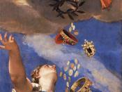 Paolo Veronese - Juno Showering Gifts on Venetia - WGA24937
