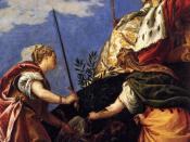 Paolo Veronese - Venetia between Justitia and Pax - WGA24923