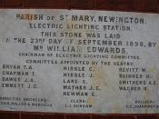 Electric Lighting Station