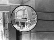 [ W ] Garry Winogrand - Self-Portrait in Convex Mirror (1956)