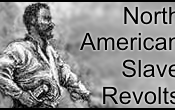 English: Improved version of the logo for Template:North American Slave Revolts, using the same public domain image, created in photoshop.