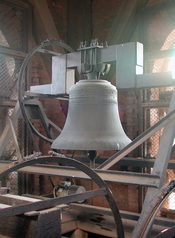 One of the church bells