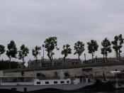 Place de la Concorde from the Seine- boats