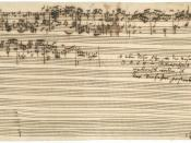 J.S. Bach's The Art of Fugue, breaks off abruptly during Contrapunctus XIV due to his death.