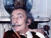 English: portrait of Salvador Dali taken in Maurice Hotel Paris