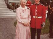 Former Governor-General Mdm. Jeanne Sauve (retired) - Ottawa 1985