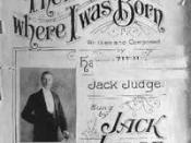 The Place Where I Was Born by Jack Judge (1915)