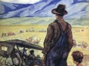 Cover of The Grapes of Wrath by John Steinbeck, 1902-1968