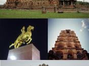 A montage of photographs for using it in Thanjavur article