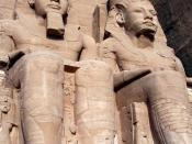 Abu Simbel in the heart of Nubia, the Temple of Rameses II