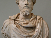 Marcus Aurelius, emperor over the last generation of classicists and himself a classicist.