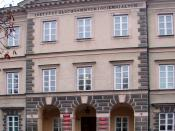 English: Deaf-and-Dumb-Children Institute, Warsaw