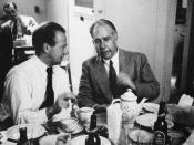 English: Werner Heisenberg and Niels Bohr