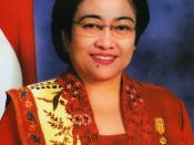 English: Megawati Sukarnoputri, fifth President of Indonesia Русский: Мегавати Сукарнопутри, пятый президент Индонезии