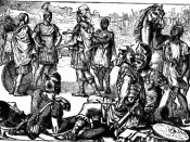 English: Meeting of Hannibal and Scipio at Zama