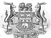 The arms of the British South Africa Company.