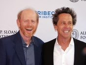 English: Ron Howard and Brian Grazer at Tribeca Talks After the Movie: A Beautiful Mind, Presented by Tribeca Film Institute and the Alfred P. Sloan Foundation.