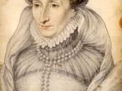 Français : Portrait au crayon de Jeanne d'Albret, reine de Navarre. Recueil. Portraits dessinés de la Cour de France