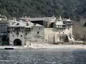 English: Monastery Xenophontos on Athos