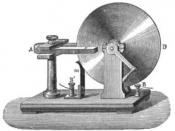 Faraday disk, the first homopolar generator