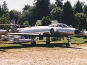 Avro CF-100 Canuck Mk 3 at the Canadian Museum of Flight in South Surrey, BC on 23 July 1988.