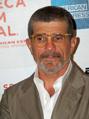 David Mamet at the premiere of Red Belt at the 2008 Tribeca Film Festival.