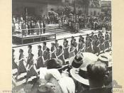 Brisbane 24 March 1945, AWAS from the Northern Territory during the Victory Loan March