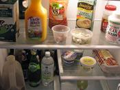 Current Contents of Refrigerator
