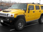 Hummer H2 photographed in Waldorf, Maryland, USA. Category:Hummer H2 Category:Yellow SUVs