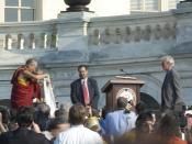 Tenzin Gyatso 14th Dalai Lama with Richard Gere