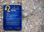 Sternzeichenpark Großschönau: Löwe / Lion