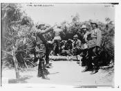 Mehmed Esad Pasha (Bülkat) and Ottoman battery at Gallipoli