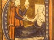 English: European depiction of the Persian (Iranian) doctor Al-Razi, in Gerardus Cremonensis