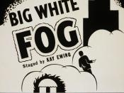 English: Theatrical poster for Big White Fog, a 1938 play by Theodore Ward.