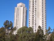 Public Housing Towers, Waterloo, Sydney