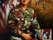 Official painting portrait of General Eric Shinseki
