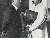 Giacinto Serrati with Leon Trotsky.
