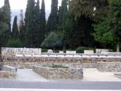 The graves of