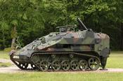 English: 120 mm light Mortar on Wiesel 2 Platform Deutsch: 120 mm leichter Panzermörser (lePzMrs) auf Basis Wiesel 2