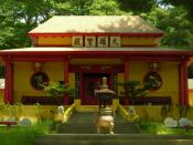 Mahayana Buddhist temple - Catskill, New York