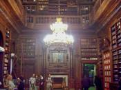 English: Library in the Legislative Palace of Buenos Aires, Barrio de Monserrat. Español: Biblioteca